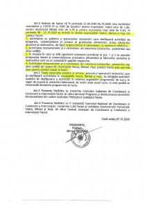 Hotararea CJSU Vaslui 32 din 07.10.2020-2